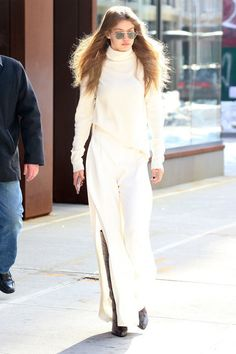Gigi Hadid's bombshell style isn't just limited to the runway. Catch her best street style looks here: