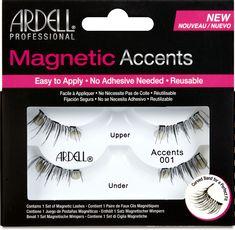 Ardell Magnetic Lash Accent #001 | Ulta Beauty Fake Eyelashes, False Lashes, Ardell Eyelashes, Feather Eyelashes, Magnetic Lashes, Lower Lashes, How To Apply Mascara, Applying Mascara, Self Conscious