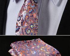Luxusná pánska sada - viazanka s vreckovkou - vzor 02. Floral Tie, Tie Clip, Ale, Fashion, Moda, Fashion Styles, Ale Beer, Fashion Illustrations, Tie Pin