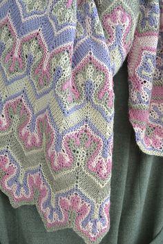 Изображение Crochet Stitches Patterns, Knitting Stitches, Stitch Patterns, Knitting Patterns, Knit Stranded, Vintage Costumes, Missoni, Crochet Flowers, Hand Crochet