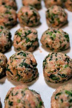Bossy Italian Wife : Healthier Turkey Meatball Recipe