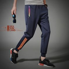 d000d30c488c Plus Size 5XL Mens full sportswear Pants Casual Elastic Mens Fitness  Workout Pants skinny Sweatpants Harem Trousers Jogger Pants-in Sweatpants  from Men s ...