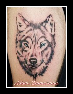 Wolf Tattoo Wolf, Tattoos, Tatuajes, Tattoo, Wolves, Tattos, Tattoo Designs, Timber Wolf
