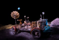 8 Things to Do in Houston With Kids | Apollo Lunar Rover at Space Center Houston