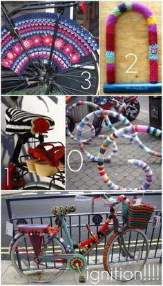 Armygurumi, amigurumi and other things in life: Ideas: Crochet Bike Tuning