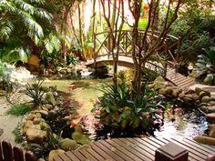 Plantar & Decorar - Dicas de Paisagismo e Decoração!: Lagos e Cascatas.