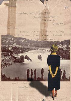 """Saatchi Online Artist: Franz Falckenhaus; Digital, 2012, Assemblage / Collage """"Memory #57"""" Poland"""
