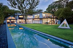 Miró Rivera Architects added contemporary style to an Austin-area home.
