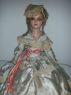 Vintage Betsy Ross Boudoir Bed Doll Flapper Doll