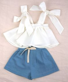 Clothing designs for little girls. Online shopping with worldwide shipping. Styl… Clothing designs for little girls. Online shopping with worldwide shipping. Stylish, feminine detailing with a playful twist. Toddler Outfits, Kids Outfits, Casual Outfits, Baby Outfits, Teen Fashion Outfits, Kids Fashion, Fashion Shoes, Cute Summer Outfits, Cute Outfits