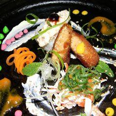 Entradas variadas asiáticas con ingredientes venezolanos te encanta la comida asiática te gustaría capacitarte y aprender más estamos a la orden para ayudarte feliz día.  #somosmas #ComidaVenezolana  #cocineros_venezolanos  #instafoodie #cooking #food #Free #chefstalk #instafood  #venezuela #chefsofinstagram #gastronomy  #theartofplating #truecooks  #InstaFood #eeeeeats #feedfeed #chefsroll  #feedyoursoul #foodporn #washoku  #foodstarz #rollwithus  #instagram #xplosion by edwarlara352