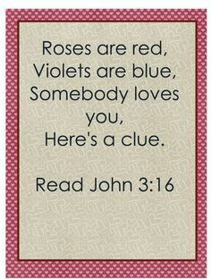 super cute for a board or church valentine christian - Christian Valentine Poems
