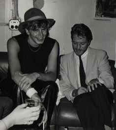 John Taylor with Robert Palmer