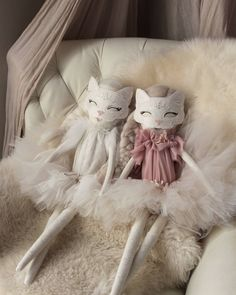 Wild rose dolls, Product, Heirloom doll, Hand made doll, hand crafted doll, doll couture, doll decor, nursery decor, kids decor, teen decor, girls rooms, cat doll, swarovski crystal, tutu, tulle, blossoms, numero74 canopy, heirloom gift, keepsake, luxe, luxe gift.