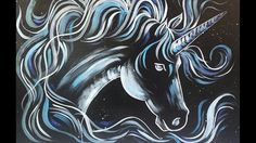 Learn how to paint a simple Unicorn or Horse Patronus animal from Harry Potter. Artist Angela Anderson will guide you step by step with easy to follow instru...