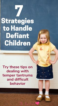 How to deal with difficult children. 7 Strategies to help with defiant children temper tantrum meltdowns and other behavior problems. If your child has oppositional defiant disorder these parenting tips will help. Flex your parenting skills by using the Parenting Classes, Parenting Teens, Parenting Hacks, Parenting Styles, Foster Parenting, Parenting Websites, Funny Parenting, Parenting Plan, Child Behavior Problems