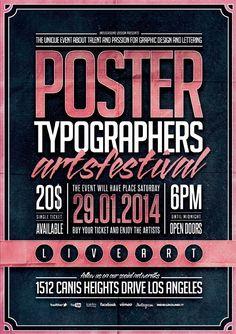Inspiración - póster design