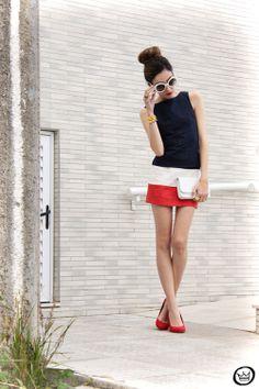 dress: Slash Store spike bracelet: Slash Store spike bracelet (largest one): Maria Cereja sunglasses: Romwe shoes: Angel  .