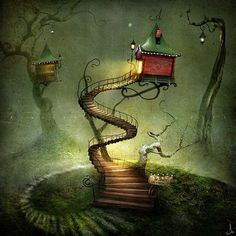 Whimsical illustrations | The whimsical art of Alexander Jansson - ego-alterego.com