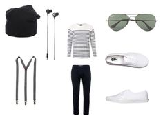 """""""Untitled #27"""" by directioner-792 on Polyvore featuring Topman, Witchery, Vans, Tom Rebl, Ray-Ban, Scotch & Soda and Marshall"""