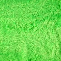 Shannon Faux Fur Luxury Shag Neon Green Fabric By The Yard