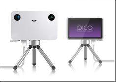 cute funny lovely slim Smiley Pico digital sony product creative flexible design