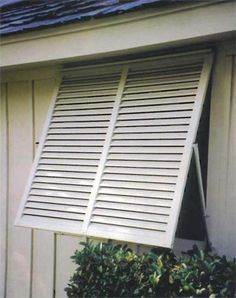This Bahama Shutter is built to finished dimensions of x The shutter will fit a window wide and high. Bahama Shutters are a favorite in the tr House Shutters, Diy Shutters, Window Shutters, Exterior Shutters, Pergola Shade, Diy Pergola, Pergola Plans, Pergola Ideas, Pergola Curtains