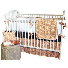@rosenberryrooms is offering $20 OFF your purchase! Share the news and save!  Alex Crib Bedding Set #rosenberryrooms