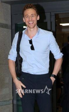 Tom in Korea