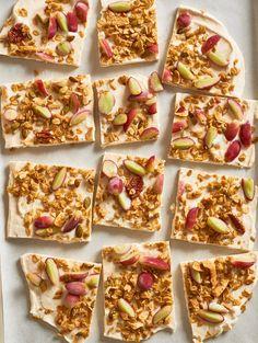 Recipe: Frozen Grape & Granola Yogurt Bark — Recipes from The Kitchn
