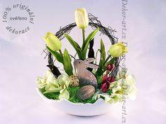 #Velikonoční #dekorace se zajíčkem v misce tvaru skořápky vajíčka. Design, Art, Art Background, Kunst, Performing Arts, Art Education Resources, Artworks