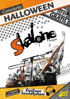 Poster for Skalone by Daniel del Ama, via Behance