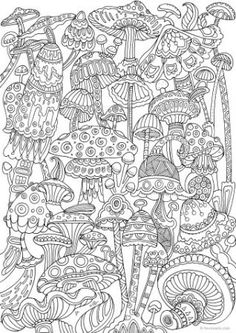 American Hippie Coloring Page Zentangle Tattoo Idea Art