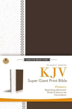 Thomas Nelson's Super Giant Print Reference Bible will bring the beauty and…