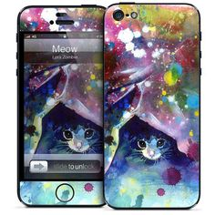Meow iPhone 5 Case, $25, now featured on Fab.