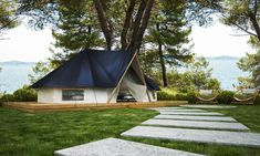 Imagine turning part of your camping site in to glamping with Adria's bell tents. #GlampingIsRad