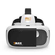 RITECH VMAX VR Pro Version Virtual Reality 3D Glasses Headset for 4.7-6' Mobile Phone