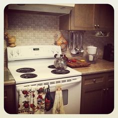 Nice kitchen in one of the units. #niagara