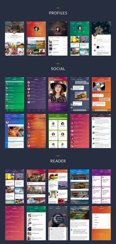 Chameleon is a modern mobile UI kit for Sketch and Photoshop. With 120 beautiful screens in 9 categories, 15 unique themes, 60+ icons and hundreds of neatly organized components you can easily create design for your mobile app.