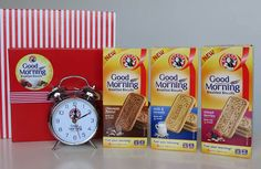 The newly launched BAKERS® Good Morning Breakfast Biscuits are great for breakfast eaten 'on the run'. Win 1 of 4 BAKERS® hampers to enjoy!