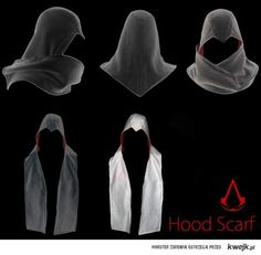 Assassin's Creed Hood Scarf - I want one please. Maybe two...