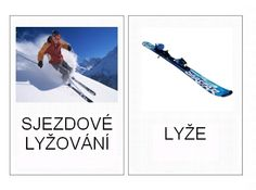 Zimní sporty - kartičky – Bartolomějův blog (Mujblog.info v3.1) Winter Activities For Kids, Winter Sports, Olympic Games, Olympics, Kindergarten, Education, European Countries, Blog, Winter Time