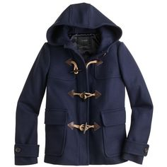 J.Crew Classic duffle coat and other apparel, accessories and trends. Browse and shop related looks.