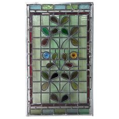 Transom+Architectural | English Aesthetic Movement Stained and Leaded Glass Window Ref: AR6833 ...