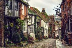 Mermaid Street, East Sussex, England