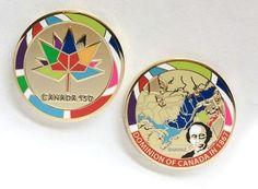 The beautiful new #Canada150 #geocoin!