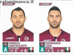 Calciatori 2015-2016: Fronte Figurina n. 693 Daniele Vantaggiato - Gianmario Comi