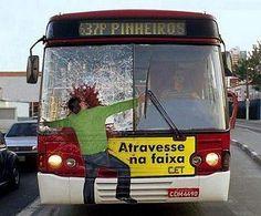Bus Ads Around the World