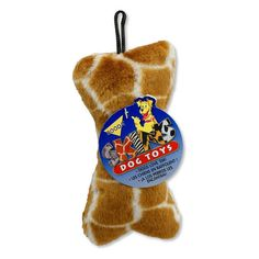 Booda Plush Giraffe Dog Toy - Medium - 0860-2674