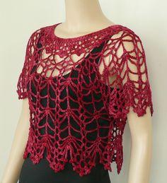 Fabulous Crochet a Little Black Crochet Dress Ideas. Georgeous Crochet a Little Black Crochet Dress Ideas. Crochet Shirt, Crochet Jacket, Crochet Cardigan, Knit Crochet, Crochet Tops, Crochet Pattern, Crochet Woman, Crochet Designs, Crochet Clothes